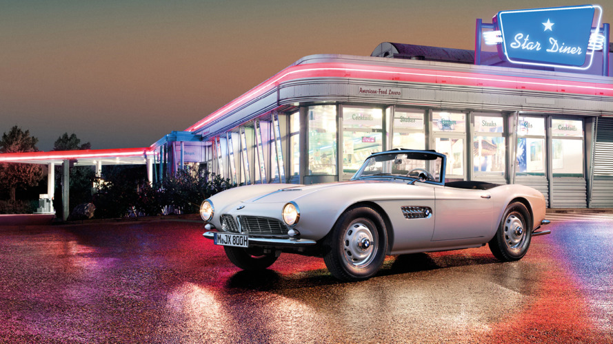 Elvis' completely restored BMW 507 is ready for Pebble Beach debut