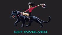 Jaguar and Gorillaz in Formula e