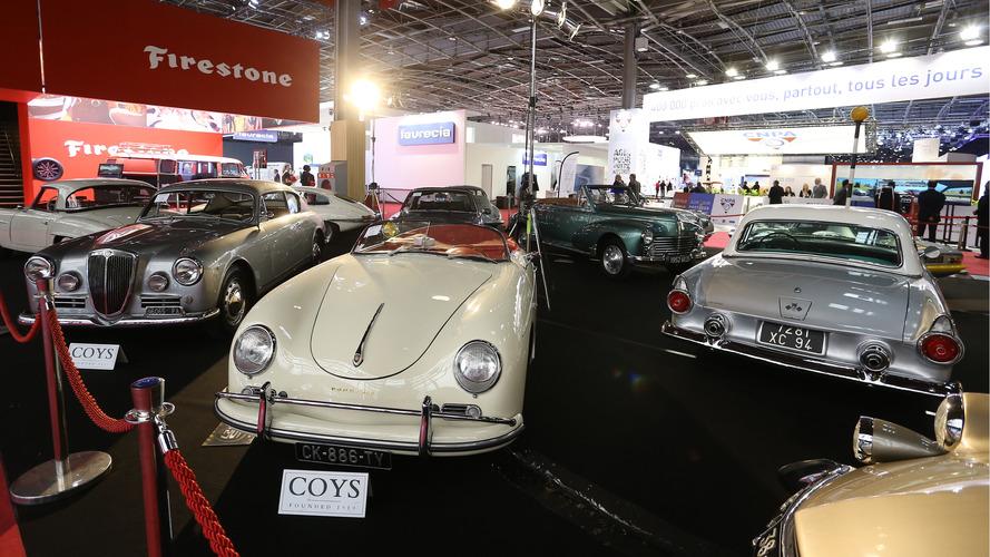 Mondial de l'Auto : Une première réussie pour la vente Coys
