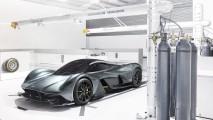 Aston Martin ve Red Bull'un hiper otomobili müthiş gözüküyor