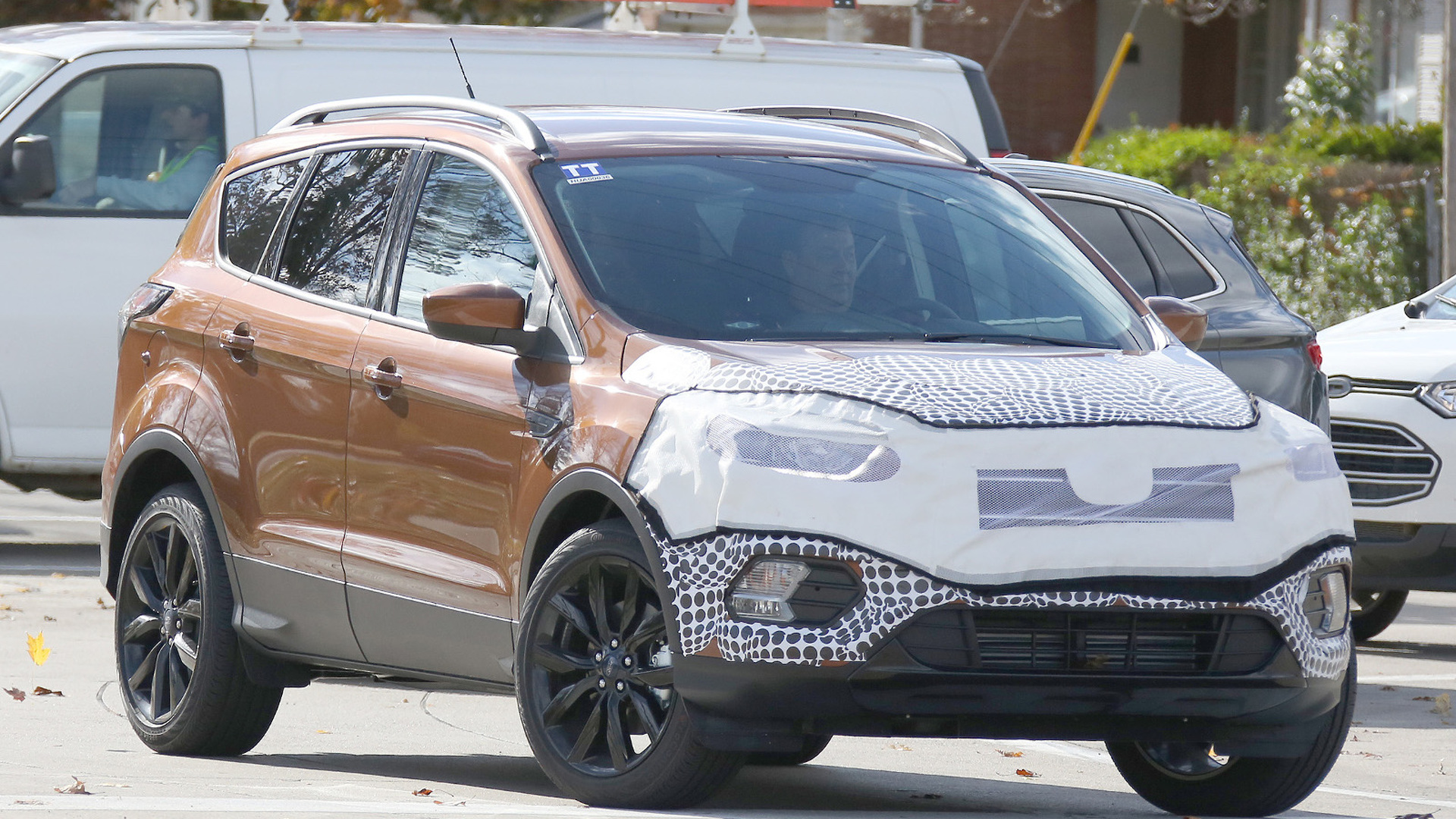 2017 ford escape kuga spied showing new details. Black Bedroom Furniture Sets. Home Design Ideas
