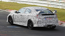 Next generation Honda Civic Type R spy photo