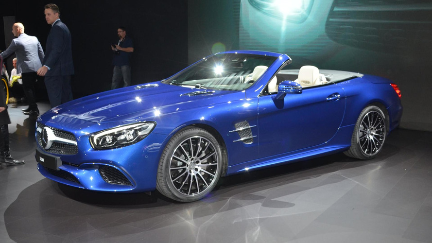 2016 Mercedes-Benz SL revealed with stronger SL 400 and 9-speed auto [video]