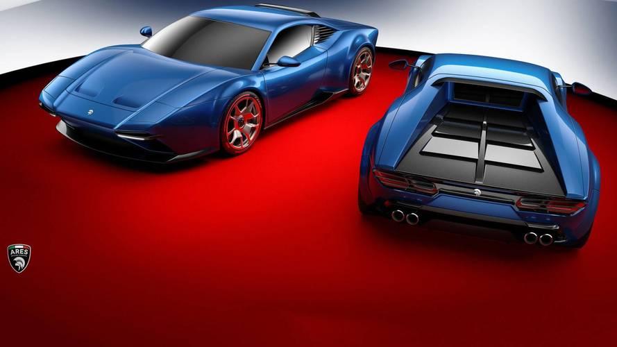 Megérkeztek az első képek a De Tomaso Pantera modern kori változatáról
