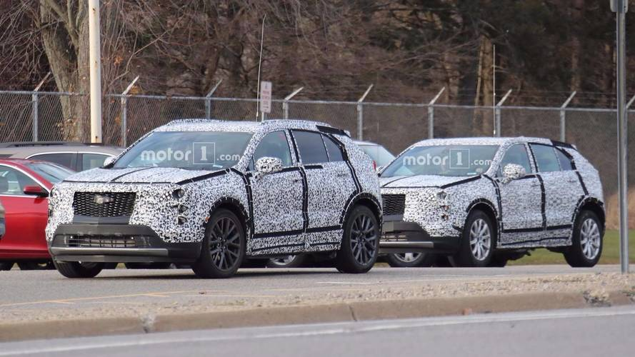 2019 Cadillac XT4 Spy Photos