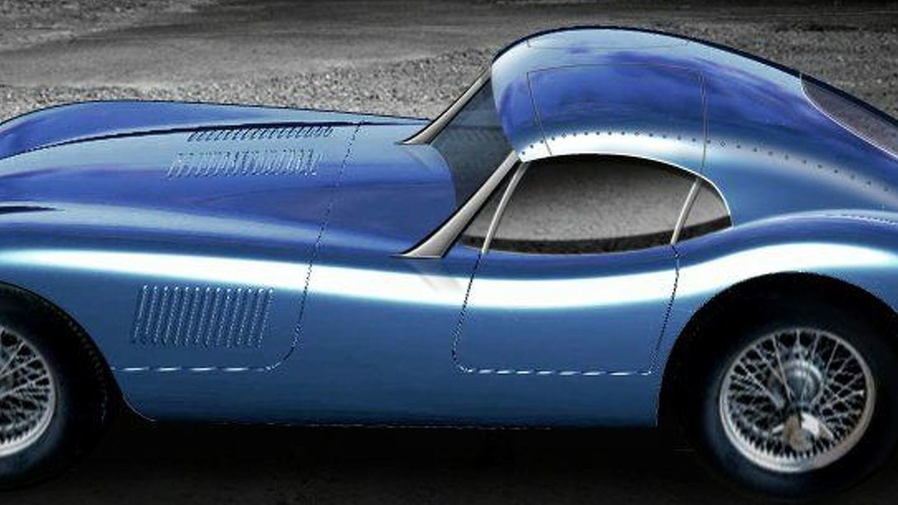 Proteus Jaguar C-Type Coupe Artist Impression