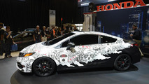 2014 HPD Civic Street Performance Concept live at SEMA 06.11.2013