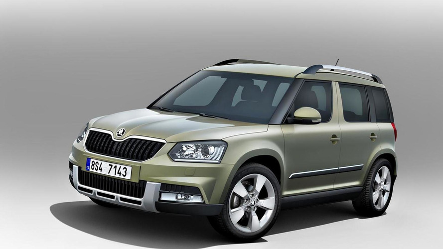 2014 Skoda Yeti facelift officially announced