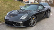Porsche Boxster GTS spy photo