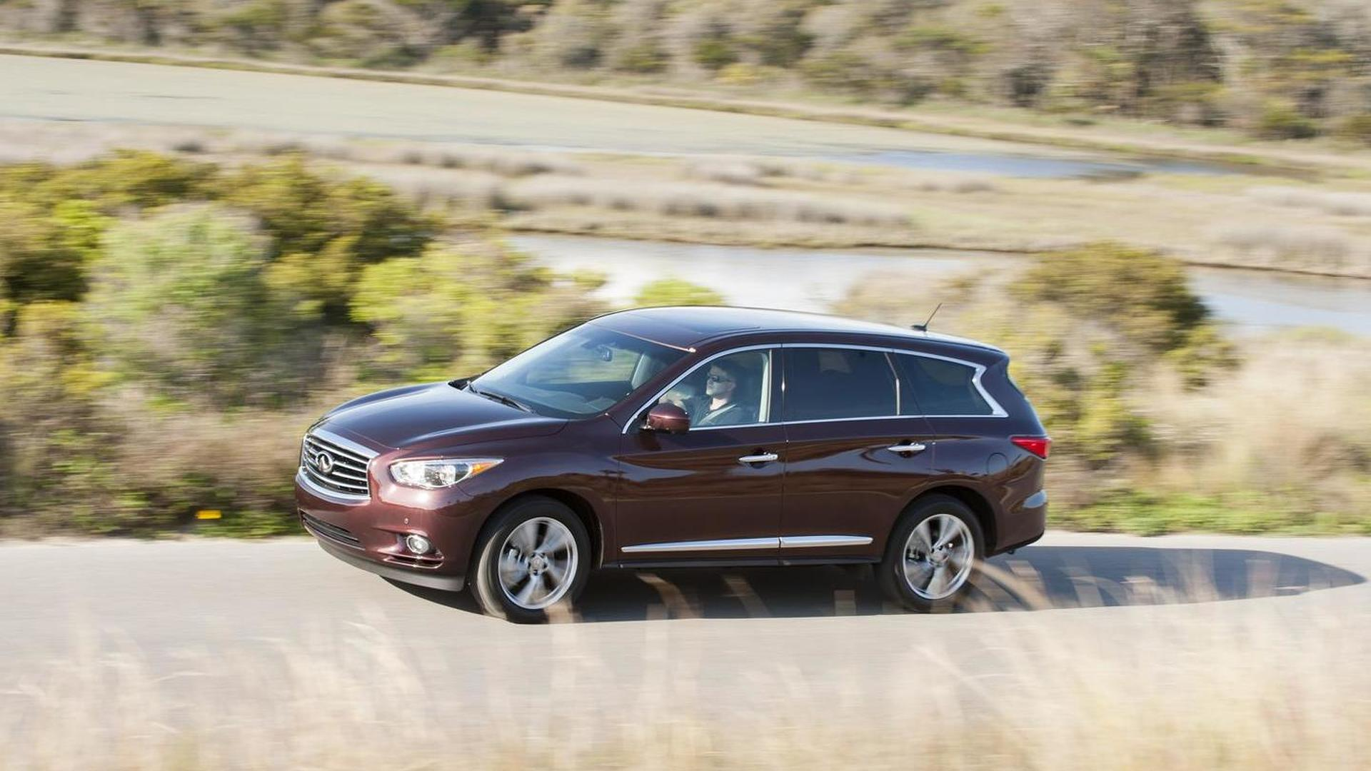 three motor infiniti front trend infinity en test quarters first suv news
