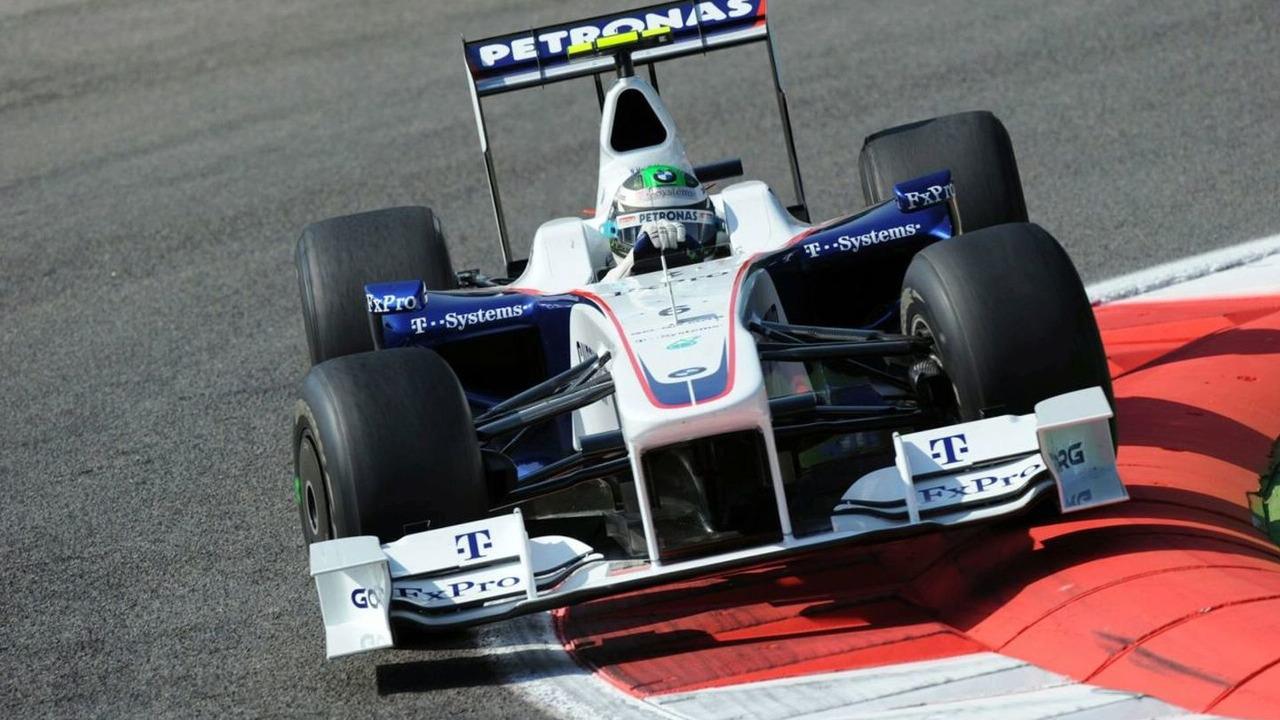 2009 Italian Grand Prix , Monza, Italy. Nick Heidfeld (GER) in the BMW Sauber F1.09