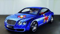 Britto Bentley Continental GT pop art