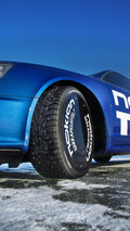 Nokian tires Audi RS6 sets ice speed world record 06.03.2011