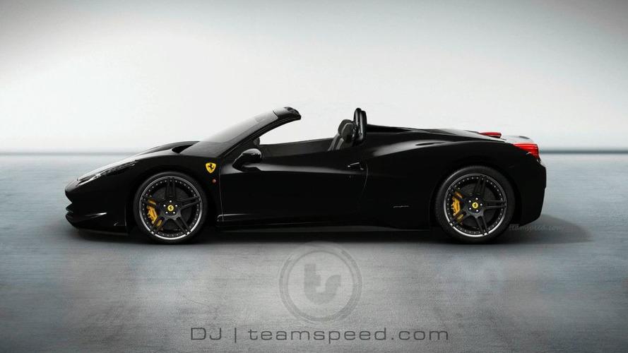 Ferrari 458 Italia Spider Confirmed - report