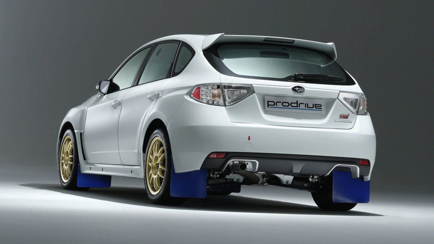 Prodrive Launches Latest Impreza Group N Rally Car