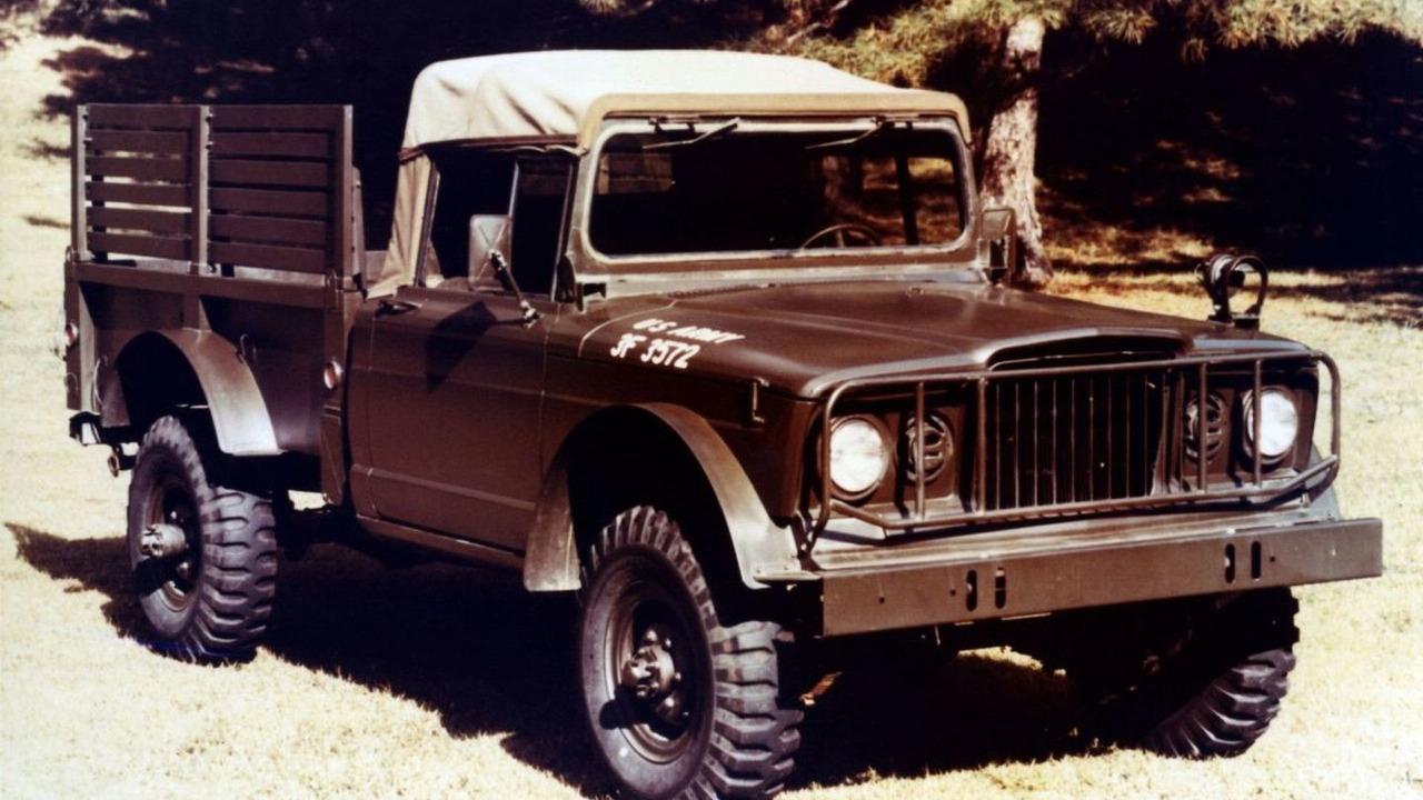 1967 M-715 Cargo Truck, 44th annual Easter Jeep Safari in Moab, Utah, 01.04.2010