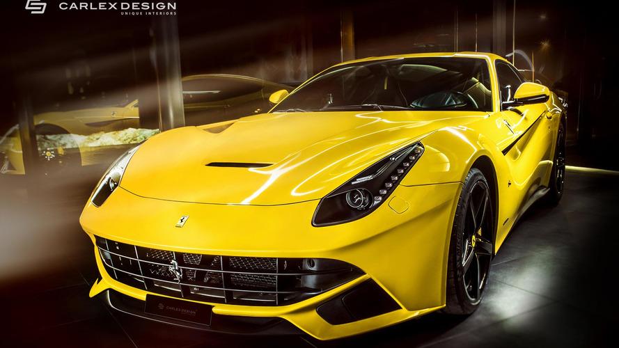 Sarı renkli çılgın Ferrari'nin kahramanı Carlex