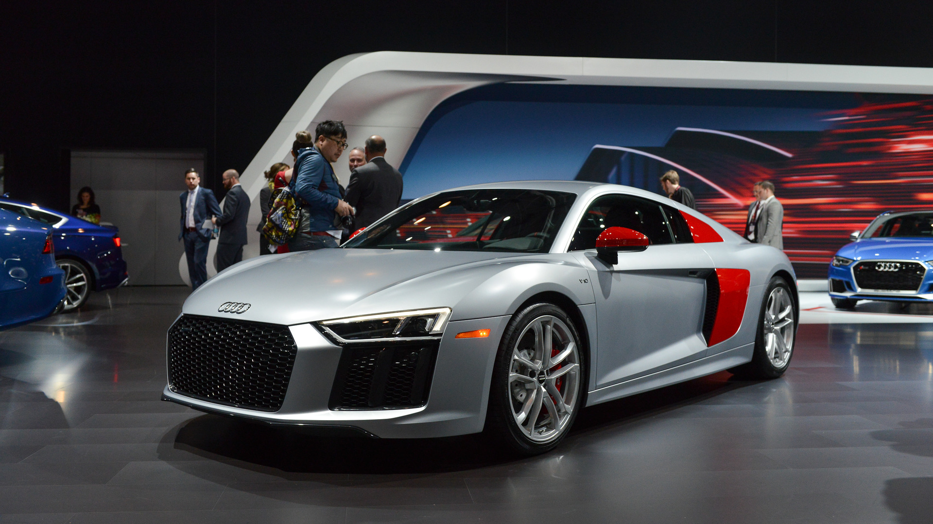 Audi Sport Edition R8 Colorfully Introduces New