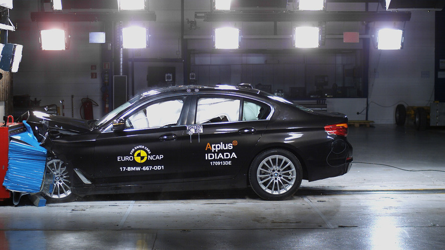 New BMW 5 Series Scores 5 Stars In Euro NCAP Crash Test