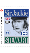 Le timbre Sir Jackie Stewart