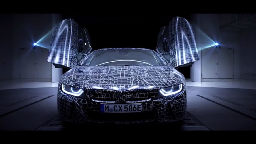 BMW i8 Roadster Teased For The First Time