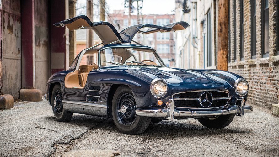 Mercedes 300 SL Gullwing is a beautiful way to spend $1.4M