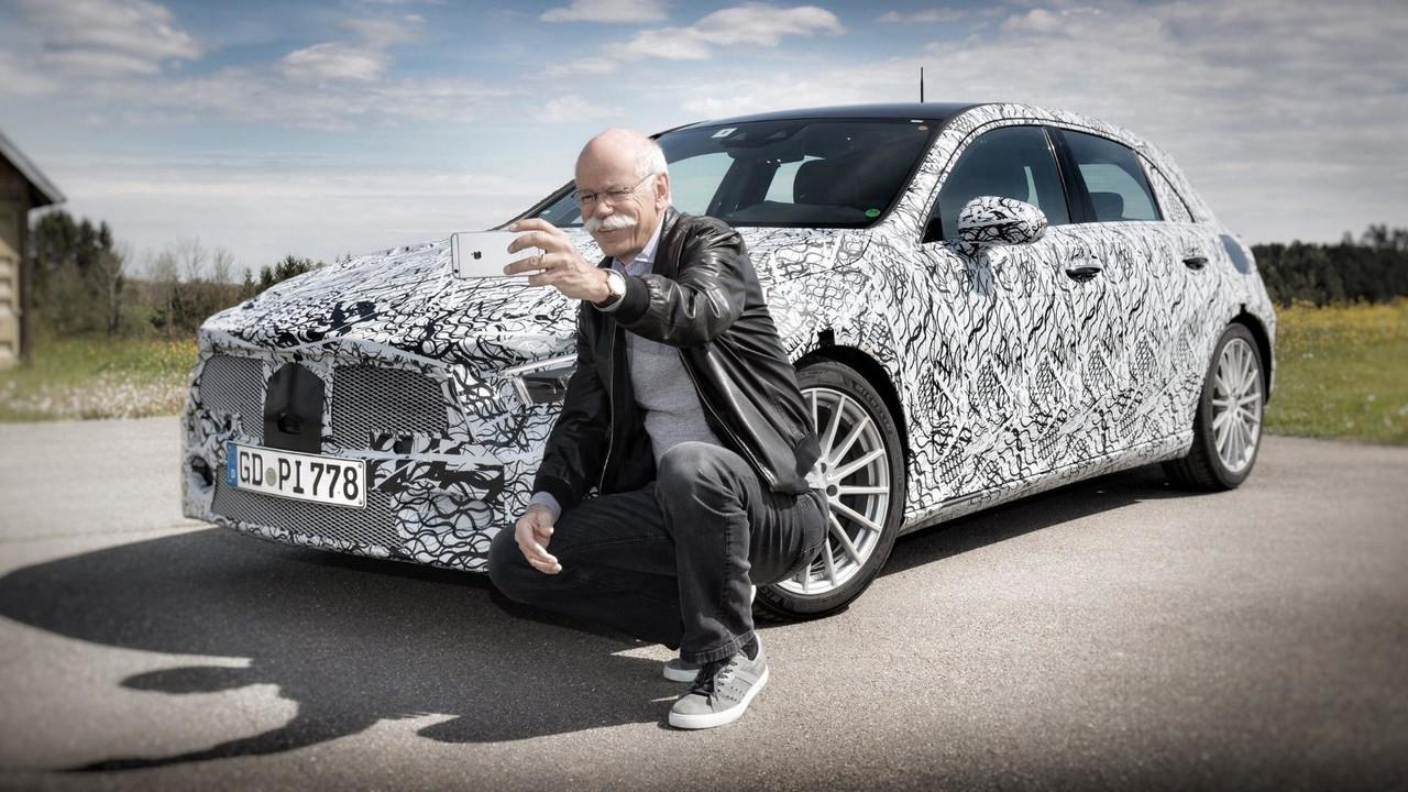 2019 Mercedes A-Serisi teaser