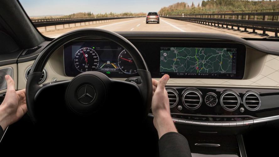 Aide à la conduite Mercedes Classe S