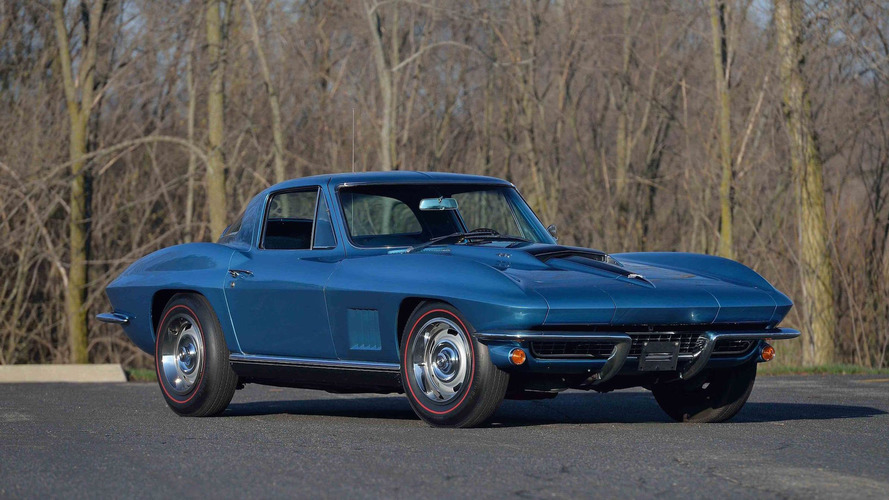 1967 Corvette 'Vault Find' Heading To Auction For The First Time