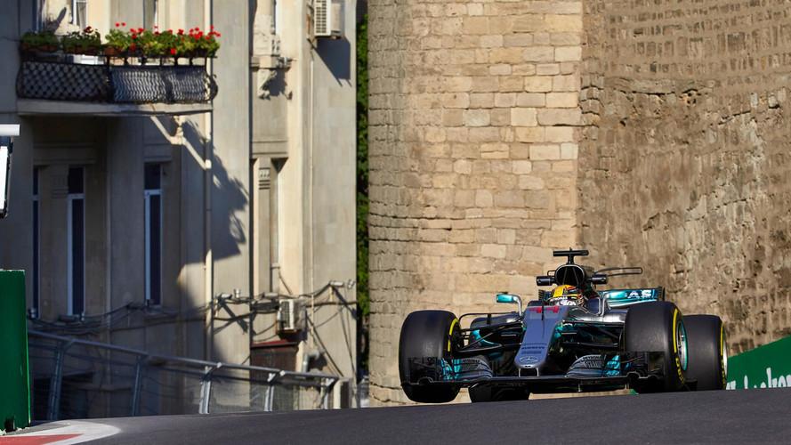 Una estratosférica vuelta da a Hamilton su 66ª pole position en Bakú