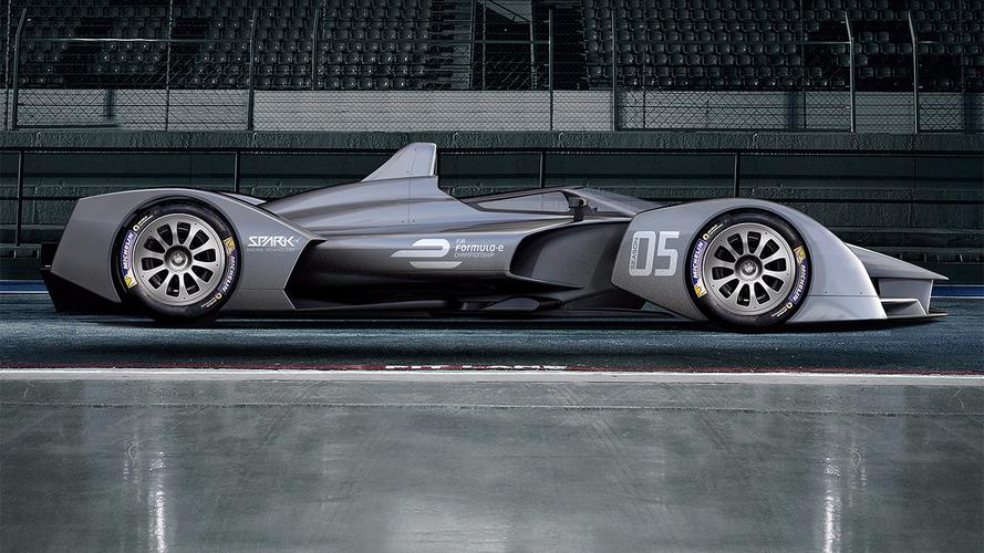 Spark mostra conceito de novo carro da Fórmula E