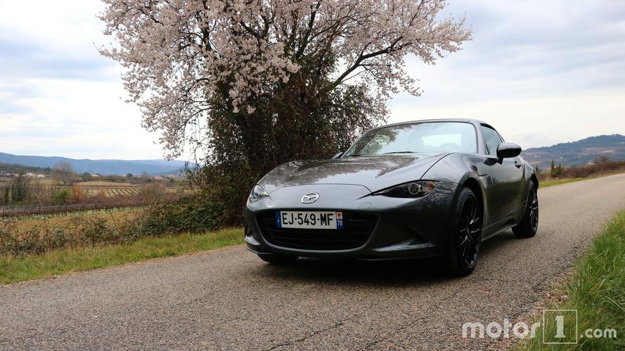 Essai Mazda MX-5 RF - Quintessence d'un plaisir automobile retrouvé
