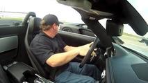 Aventador-SLS AMG Roadster drag race.