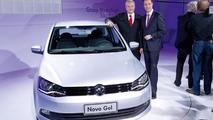 2013 Volkswagen Gol three-door live in Brazil 22.10.2012