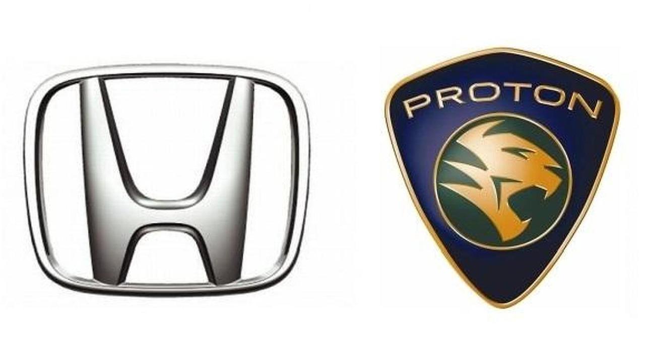 Honda, Proton logos