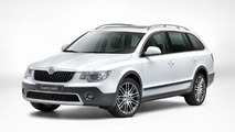Skoda Superb Estate Outdoor