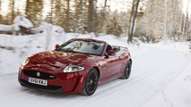 Jaguar XKR-S Convertible Nordic Drive January 2012