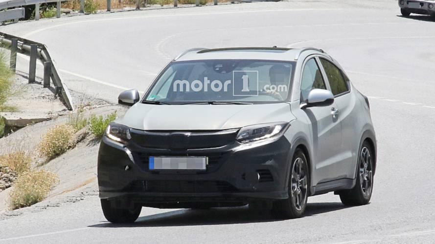 Honda HR-V spied hiding discreet facelift