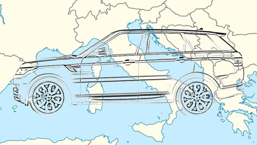 I 10 SUV più rubati in Italia