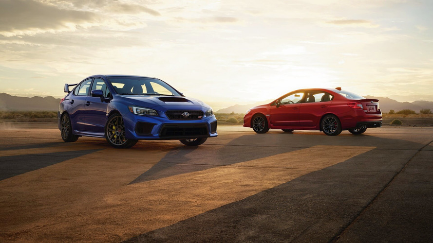 2019 Subaru WRX STI Revealed With 310 Horsepower