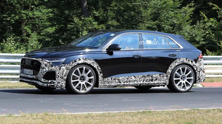 Séance d'entraînement intensif pour l'Audi RS Q8