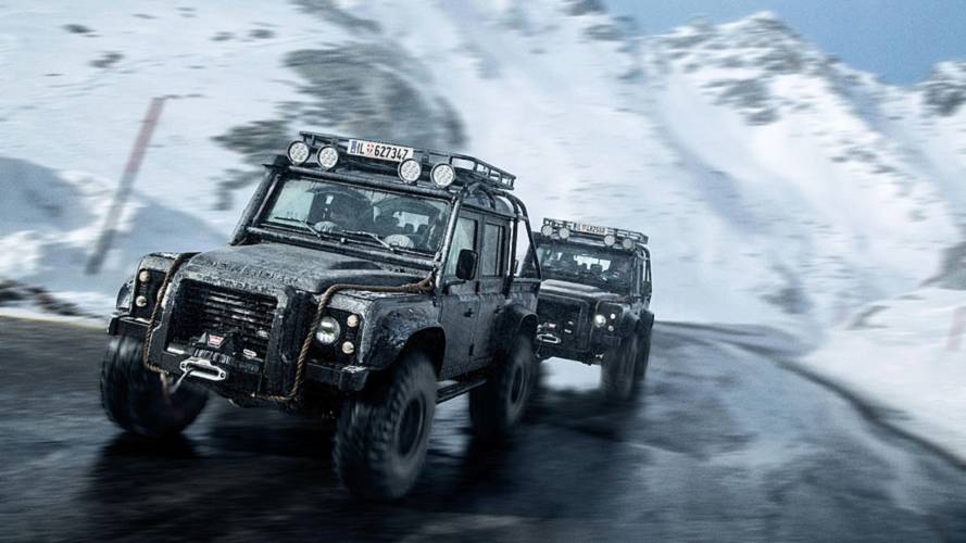 James Bond Land Rover Up For Sale