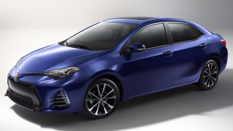 2017 Toyota Corolla refreshed for U.S. market