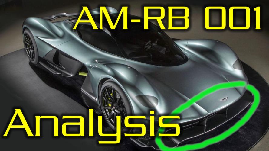 Aston Martin AM-RB001 aerodynamics explained