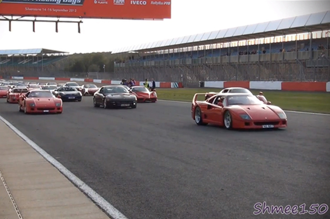 964 Ferraris Break World Record at Silverstone