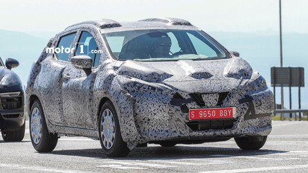 2017 Nissan Micra spotted sporting Sway concept styling cues