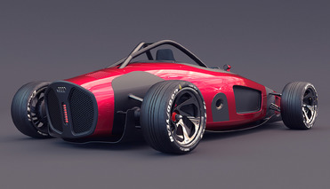 ... Futuristic Audi Union Concept Relives Cars Of Racing Past ...
