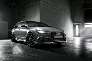 Exclusive Audi RS6 Avant is Frigidly Cool