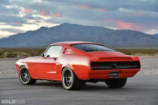 1968 Mustang Fastback Gets a Villainous Revival