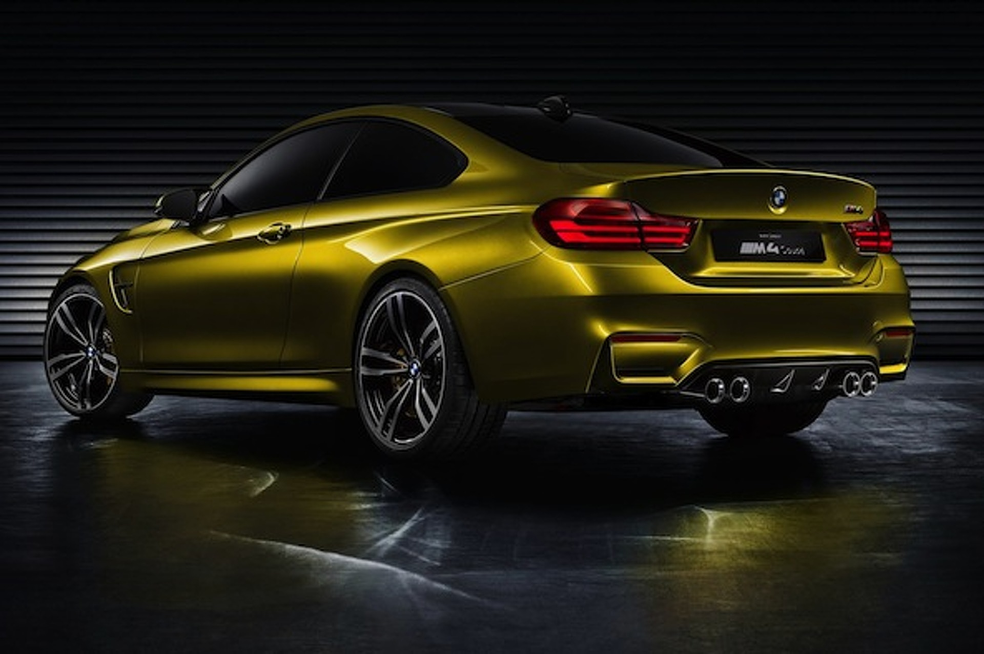 BMW M4 Concept: Official Info, Photos Unveiled at Pebble Beach
